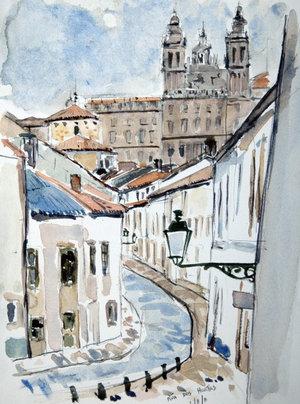"""Santiago Sketches"""" by David McLoughlin"""