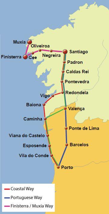 CaminoPortuguesePorLaCosta