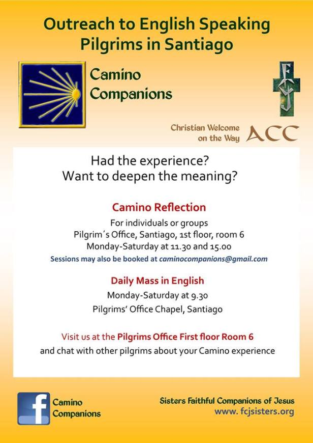 Camino Companions – reflect on and share your Camino experience